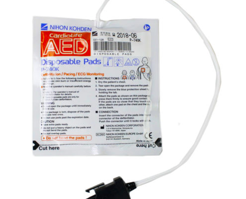 ELECTRODOS NIHON KHODEN AED 3100 P 740K