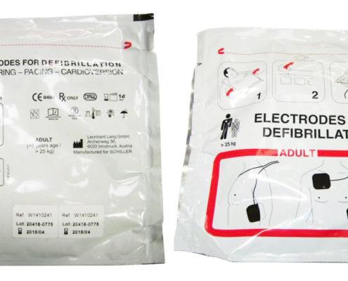 Electrodos fred Easy Adulto
