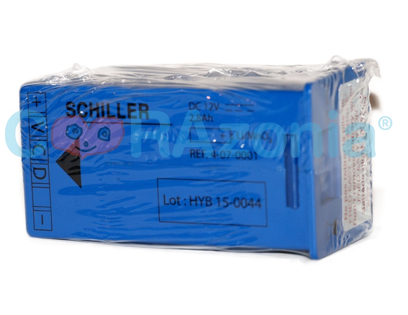 Batería Desfibrilador Fred Easy Schiller Original