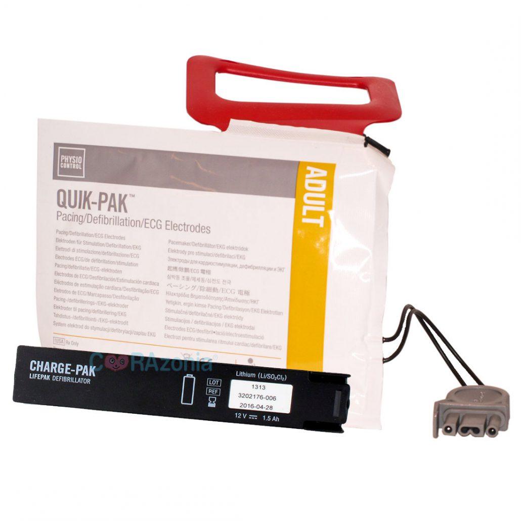 Charge PAK Physio Control para CR Plus
