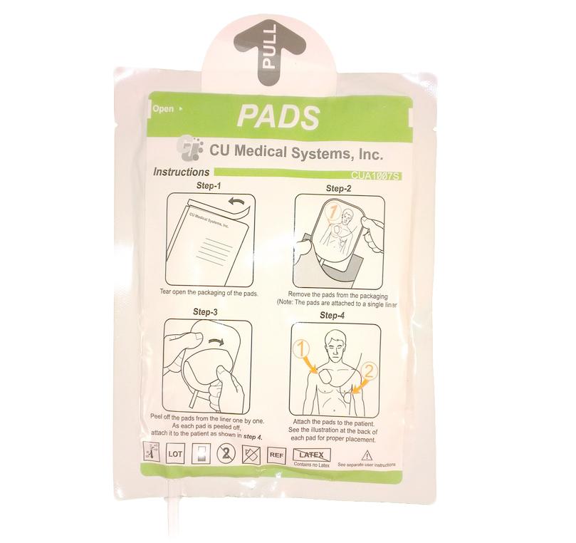 Electrodos desfibrilador IPAD CU-SP1 originales adulto-pediátrico