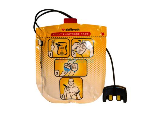 ELECTRODOS ADULTO DEFIBTECH VIEW