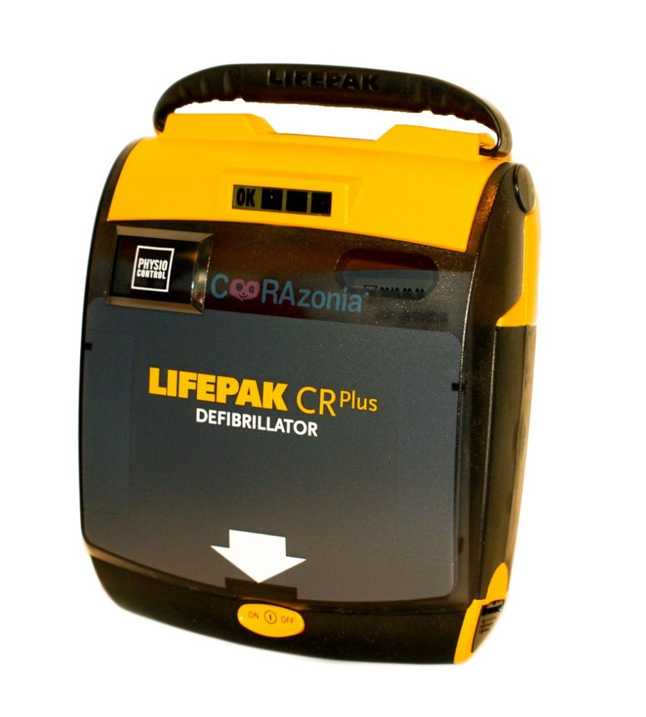 DESFIBRILADOR LIFEPAK CR PLUS
