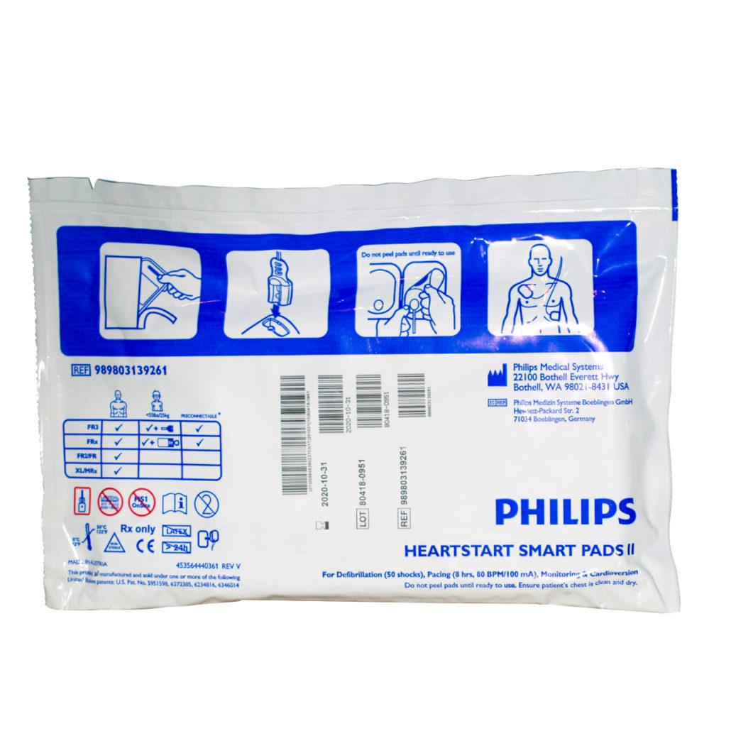 ELECTRODOS ADULTO PHILIPS HEARTSTART SMART PADS II