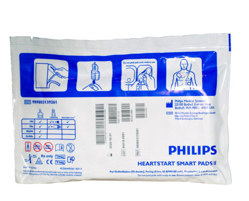 ELECTRODOS ADULTO PHILIPS HEARTSTART SMART PADS II