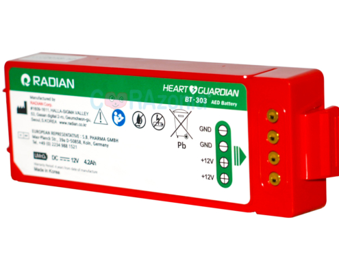 BATERIA HEART GUARDIAN HR 501 RADIAN