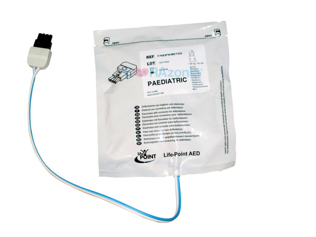ELECTRODO PEDIATRICO LIFE POINT AED PLUS
